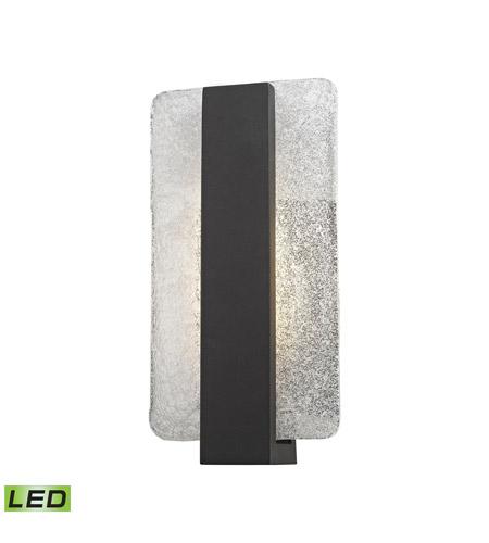 Elk Lighting Pierre: ELK 45230/LED Pierre LED 12 Inch Textured Matte Black