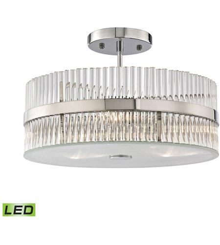 Elk Lighting Amazon: ELK 45285/3-LED Nescott LED 14 Inch Polished Chrome Semi