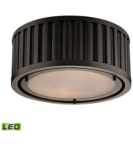 ELK Lighting Linden LED Flush Mount in Oil Rubbed Bronze 46130/2-LED photo