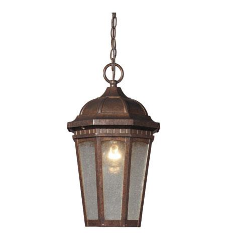 ELK Lighting Fullerton 1 Light Outdoor Hanging Lantern in Hazelnut Bronze 47032/1 photo