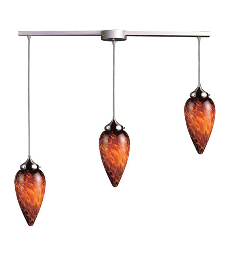 ELK Lighting Lacrima 3 Light Pendant in Satin Nickel 503-3L-ES photo