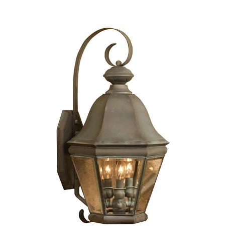 ELK Lighting Heritage 3 Light Outdoor Wall Sconce in Charcoal 5081-C