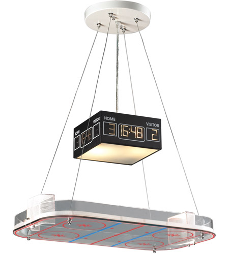 ELK 5138/2 Novelty 2 Light 22 inch Hockey Pendant Ceiling Light in Standard photo