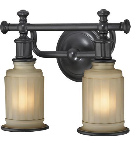 Elk Lighting Acadia 2 Light Bath Bar In Oil Rubbed Bronze 52011 2