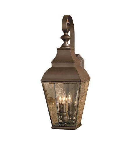 Elk Lighting Bristol: ELK 5216-AC Bristol 3 Light 31 Inch Aged Copper Outdoor