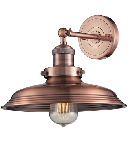 Newberry 1 Light 11 Inch Antique Copper Sconce Wall