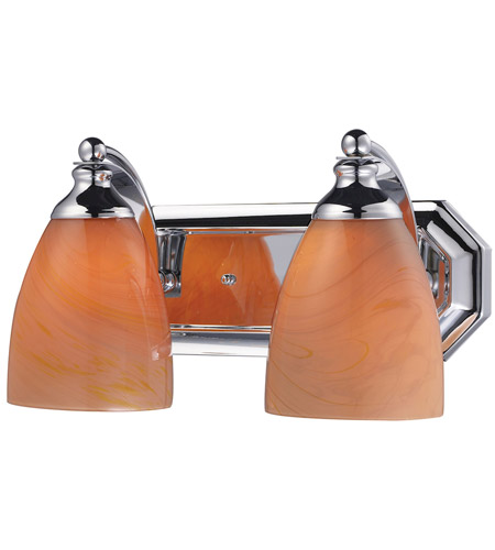 ELK Lighting Vanity 2 Light Bath Bar in Polished Chrome 570-2C-SY photo