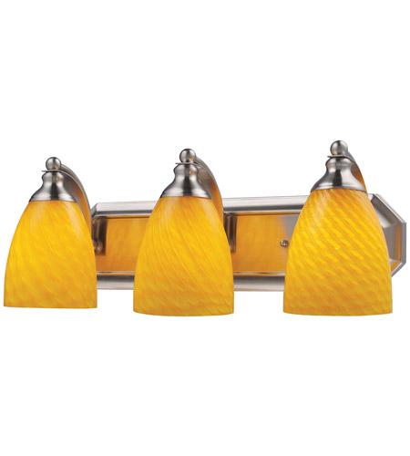 ELK Lighting Vanity 3 Light Bath Bar in Satin Nickel 570-3N-CN photo
