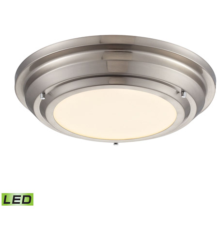 ELK 57000/LED Sonoma LED 14 Inch Brushed Nickel Flush Mount Ceiling Light