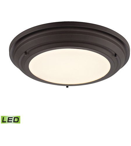 ELK 57021/LED Sonoma LED 17 inch Oil Rubbed Bronze Flush Mount Ceiling Light photo