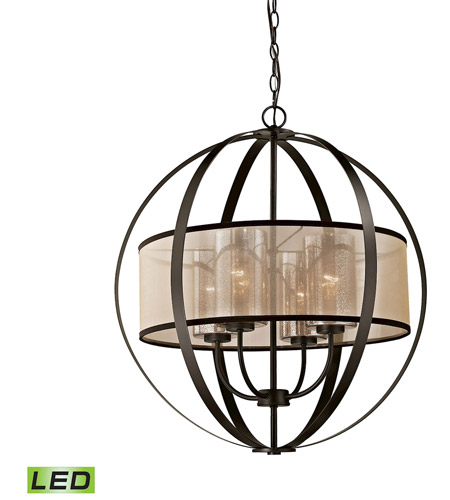 oil rubbed bronze chandelier canada elk led diffusion ceiling light chain lowes