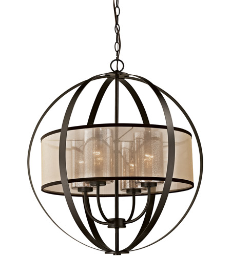 ELK 57029/4 Diffusion 4 Light 24 inch Oil Rubbed Bronze Chandelier Ceiling Light in Incandescent photo