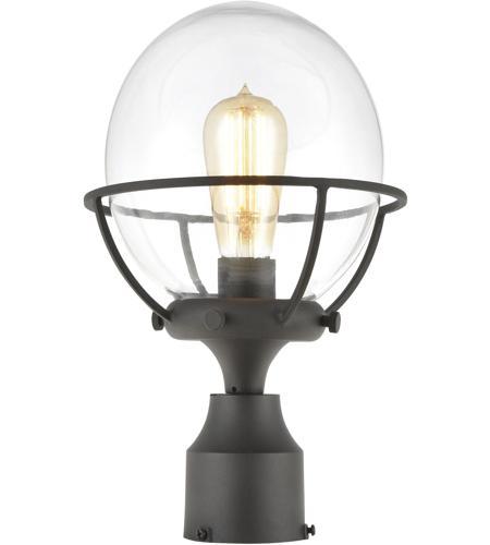 Elk 57293 1 Girard Light 13 Inch, Mid Century Modern Outdoor Light Post
