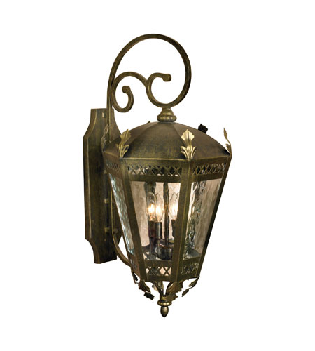 ELK Lighting La Jolla 4 Light Outdoor Wall Sconce in Castle Bronze ...