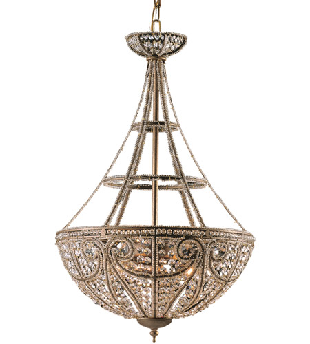 ELK Lighting Elizabethan 4 Light Pendant in Dark Bronze 5965/4 photo