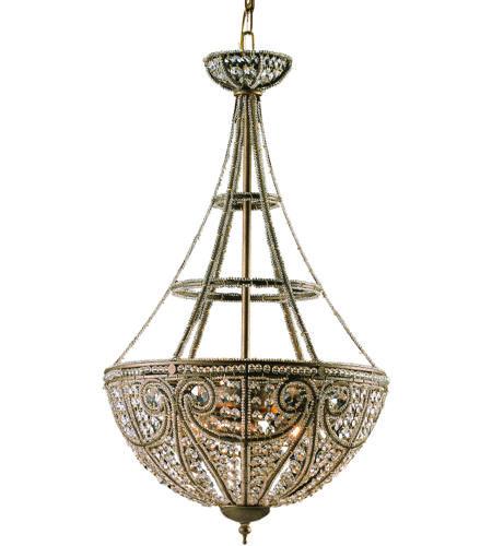 ELK 5965/4 Elizabethan 4 Light 17 inch Dark Bronze Pendant Ceiling Light