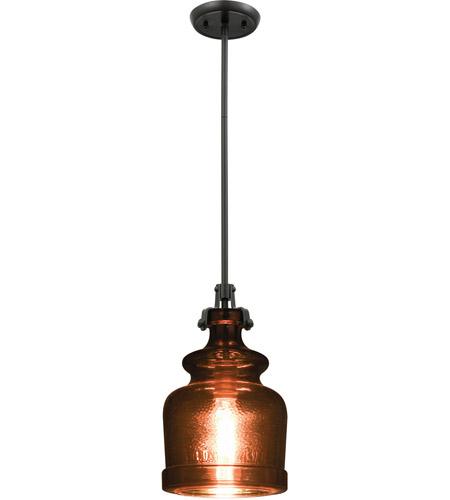 Elk 60125 1 Sheffield Light 8 Inch Oil Rubbed Bronze Pendant Ceiling