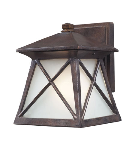 ELK Lighting Spencer 1 Light Outdoor Sconce in Hazelnut Bronze 64003-1 photo