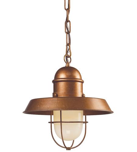 Elk 65049 1 Farmhouse 1 Light 12 Inch Bellwether Copper Mini Pendant Ceiling Light