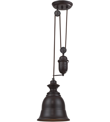 Elk 65070 1 farmhouse 1 light 8 inch oiled bronze pendant ceiling elk 65070 1 farmhouse 1 light 8 inch oiled bronze pendant ceiling light in standard aloadofball Gallery