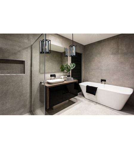 ELK 65261/1 Eastgate 1 Light 8 inch Textured Black Mini Pendant Ceiling Light alternative photo thumbnail