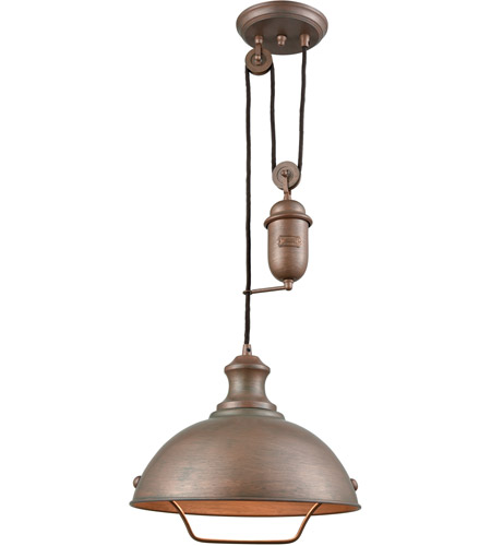 Elk 65271 1 farmhouse 1 light 14 inch tarnished brass pendant elk 65271 1 farmhouse 1 light 14 inch tarnished brass pendant ceiling light pulldown mozeypictures Image collections