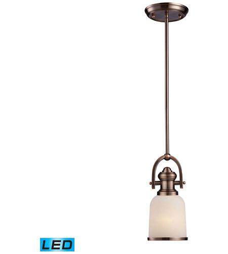 Elk Lighting Amazon: ELK 66181-1-LED Brooksdale LED 5 Inch Antique Copper