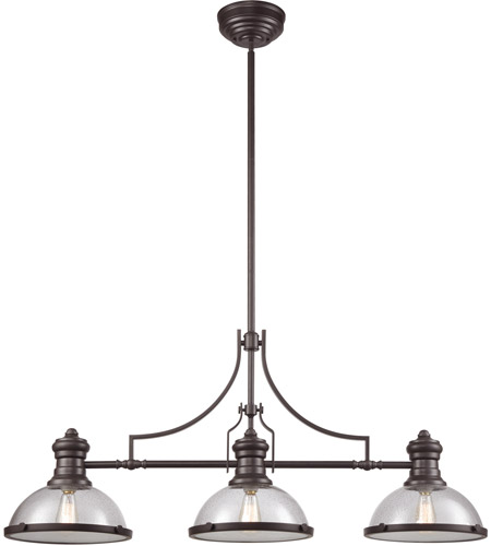 ELK 66535-3 Chadwick 3 Light 47 Inch Oil Rubbed Bronze