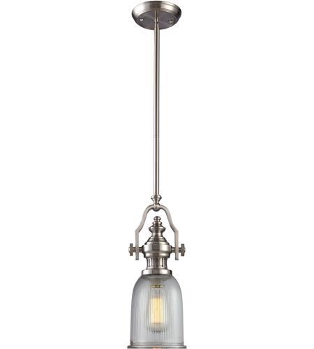 Chadwick 1 Light 7 Inch Satin Nickel Mini Pendant Ceiling