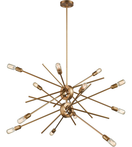 Elk 6697512 xenia 12 light 42 inch matte gold chandelier ceiling light mozeypictures Gallery