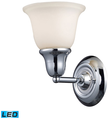 ELK 67010-1-LED Berwick LED 7 inch Polished Chrome Bath Bar Wall Light in 1 photo