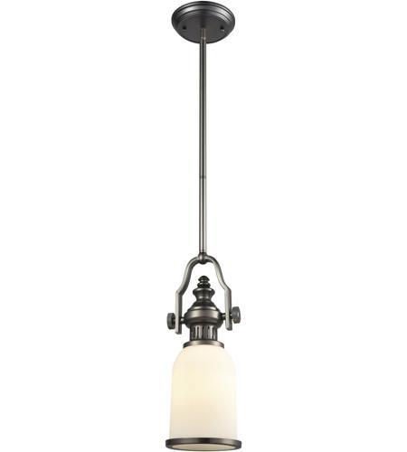 Chadwick 1 Light 6 Inch Black Nickel Mini Pendant Ceiling