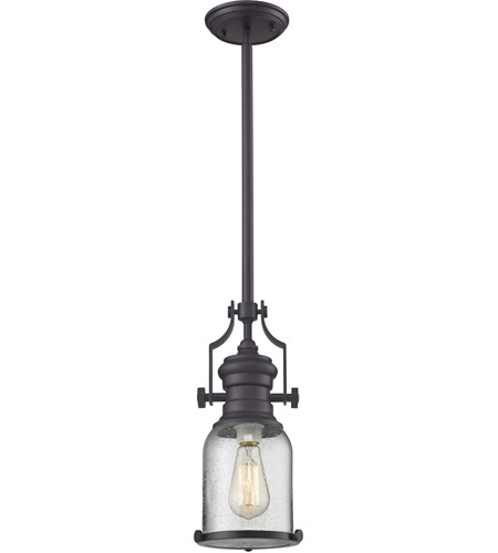ELK 67722-1 Chadwick 1 Light 8 inch Oil Rubbed Bronze Pendant Ceiling Light photo