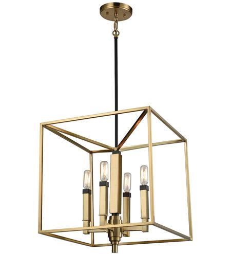 Elk Lighting Amazon: ELK 67754/4 Mandeville 4 Light 16 Inch Satin Brass With
