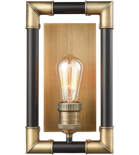 Elk Lighting 69210//1 Wall Sconce Classic Brass