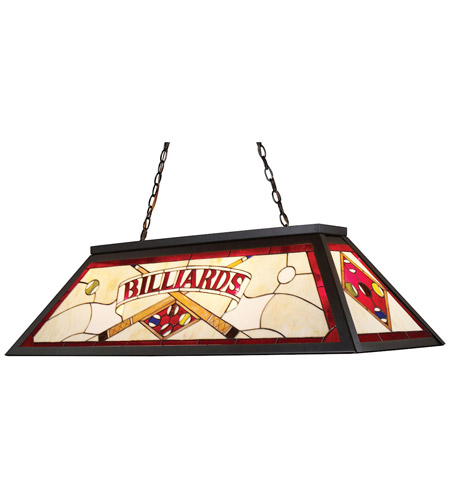 ELK Lighting Tiffany 4 Light Billiard/Island in Tiffany Bronze 70053-4 photo