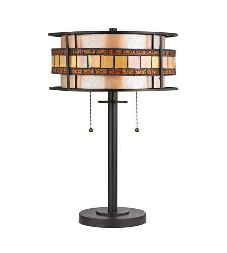 Elk 70191 2 Annondale 14 Inch 60 Watt Tiffany Bronze Table Lamp