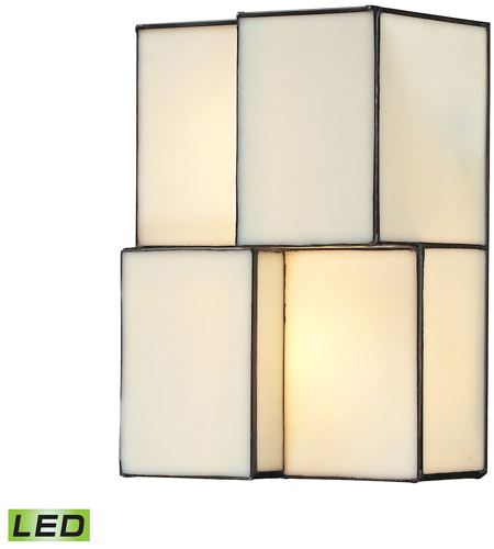 ELK 72060 2 LED Cubist LED 7 Inch Brushed Nickel Wall Sconce Wall Light