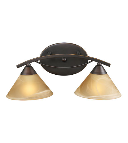 ELK Lighting Elysburg 2 Light Vanity in Aged Bronze 7641/2 photo