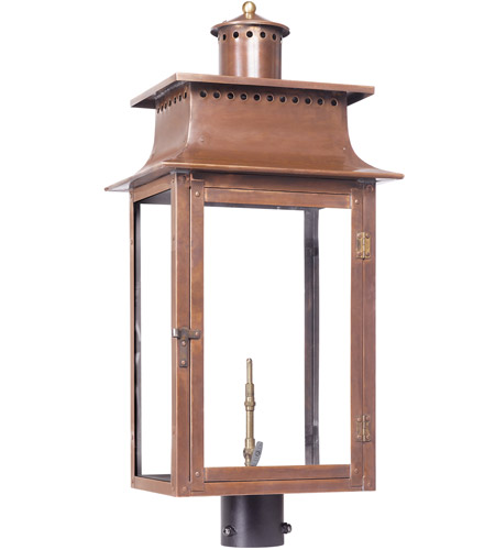 Aged Copper Post Lights & Accessories