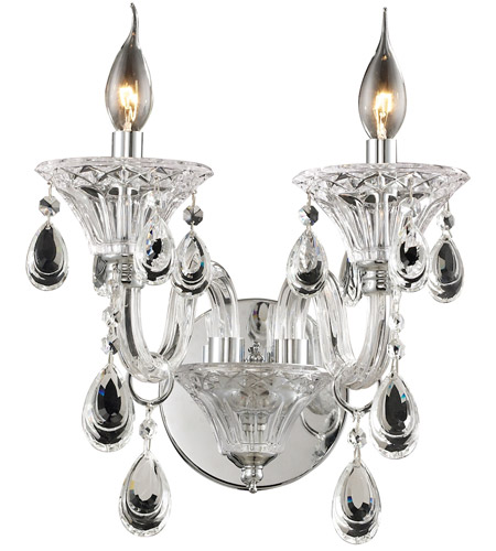 ELK 80000/2 Formont 2 Light 13 inch Clear Chandelier Ceiling Light photo