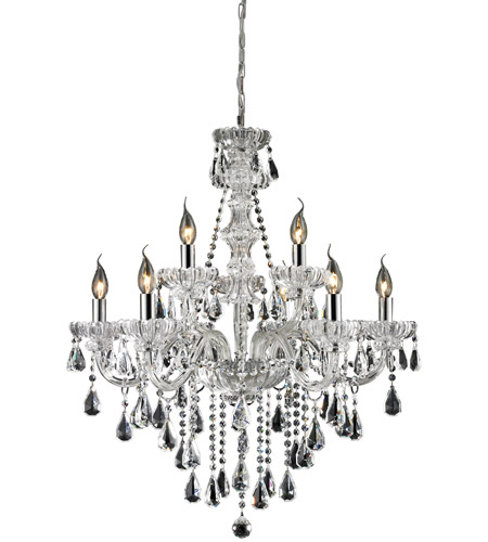 Nulco by ELK Lighting Cotswold 9 Light Chandelier in Clear 80063/6+3 photo