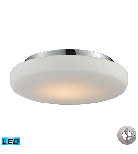 Nulco by ELK Lighting Feltham LED Flush Mount in Chrome 81050/1-LA photo