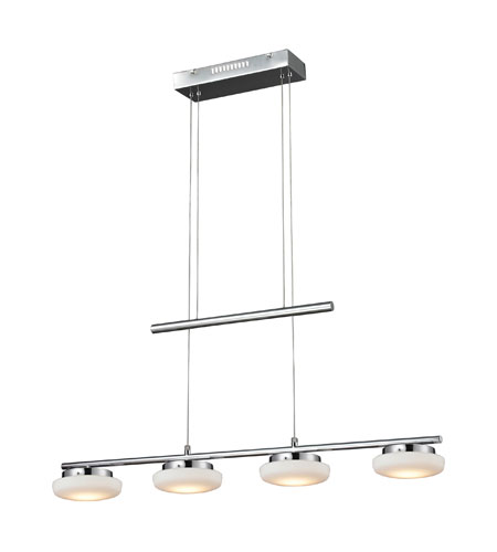 Nulco by ELK Lighting Feltham LED Island Light in Chrome 81053/4 photo