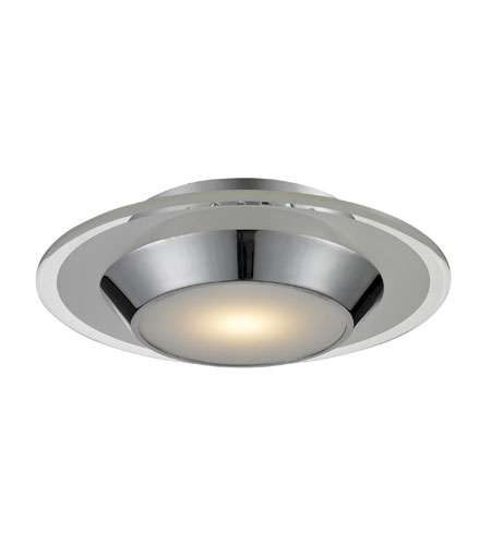 Nulco by ELK Lighting Brentford LED Flush Mount in Chrome 81060/1 photo