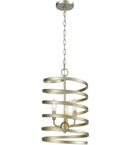 Elk 813533 whirlwind 3 light 13 inch aged silver pendant ceiling light aloadofball Gallery