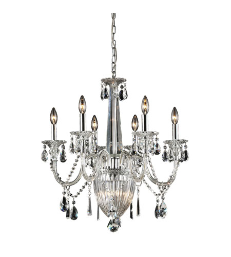 Nulco by ELK Lighting Banburgh 9 Light Chandelier in Chrome 82012/6+3 photo
