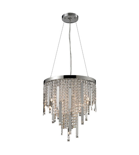 Nulco by ELK Lighting Kingsford 10 Light Pendant in Chrome 82045/10 photo