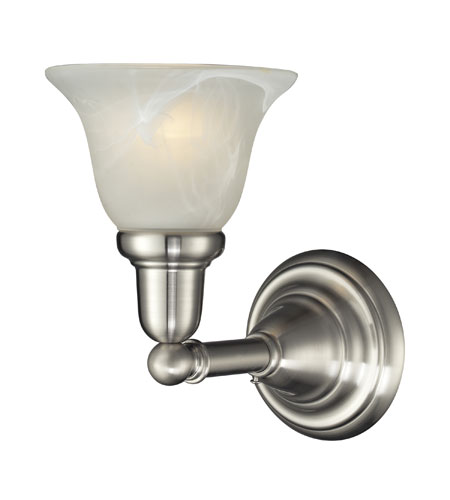 Nulco by ELK Lighting Vintage Bath 1 Light Vanity in Satin Nickel 84000/1 photo
