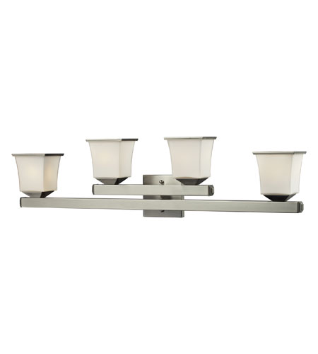 Nulco by ELK Lighting Ziggusat 4 Light Vanity in Satin Nickel 84032/4 photo